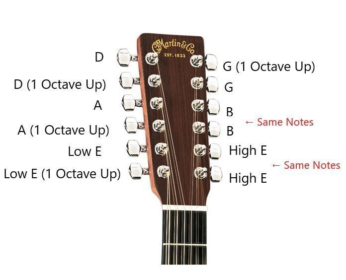 Tuner 12 String Guitar : how do 12 string guitars work everything you need to know guitarmeet ~ Russianpoet.info Haus und Dekorationen