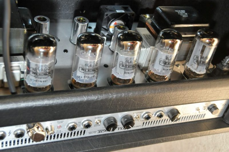 changing power tubes